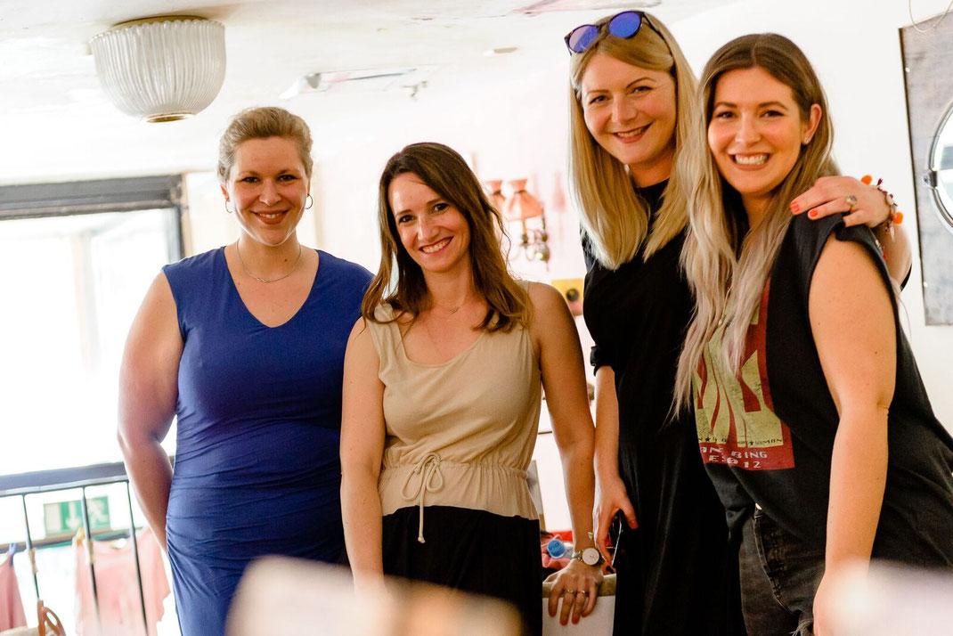 Die Gastgeberinnen: Frauluknits, Loveforwool, Lilientinte und Jestil211