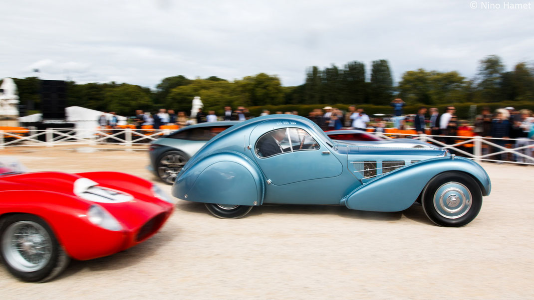 Bugatti Type 57 SC Atlantic #57374 1936 – Best of Show Chantilly 2017