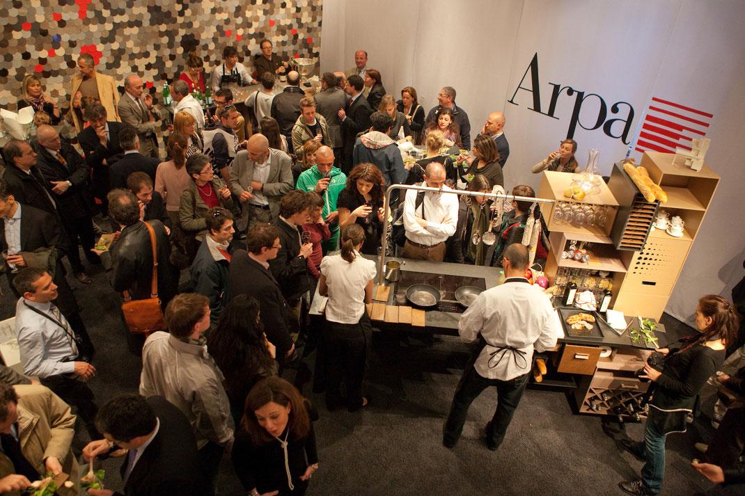 Show-Küche auf der Milano Design Week