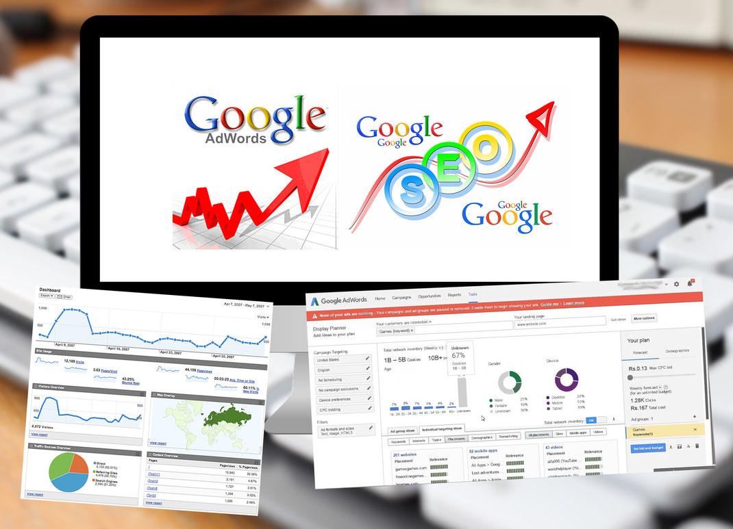 Suchmaschinenoptimierung SEO / SEA - Sonma | Scheidegger Online Marketing - Ihr KMU-Partner für Webdesign und Social Media