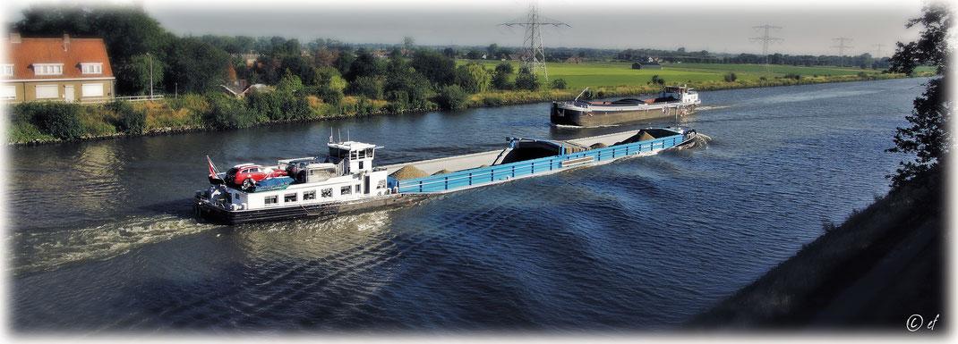 Der Julianakanal in den benachbarten Niederlanden