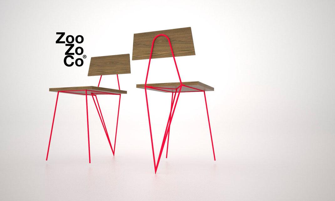 vintage chair ZooZoCo Jesus Reyes