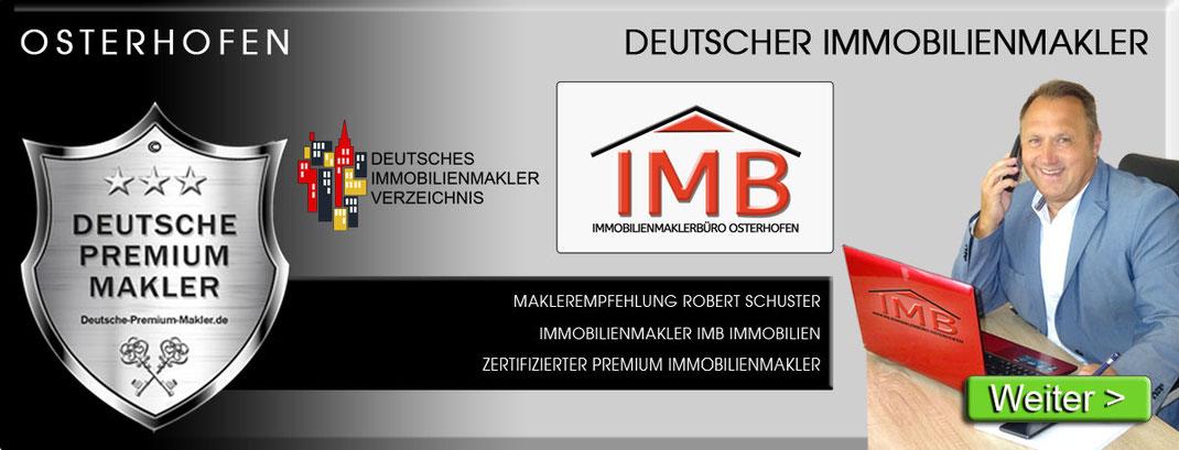 IMMOBILIENMAKLER ROBERT SCHUSTER IMB IMMOBILIEN OSTERHOFEN MAKLEREMPFEHLUNG