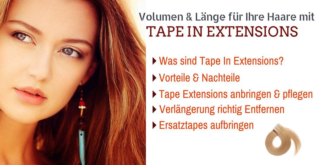 Tape In Haar Extensions Blog artikel