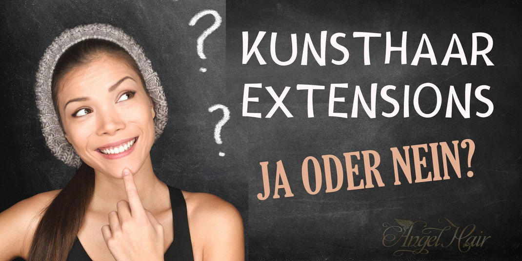 Kunsthaar Extensions oder Echthaar extensions erfahrung