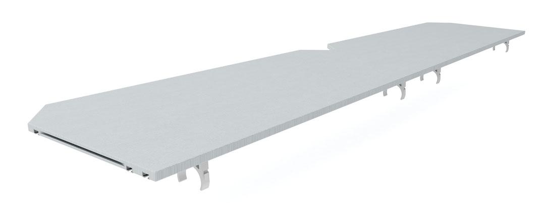 OnTruss EventBoard Premium S100 | Verbindung von 2 Platten