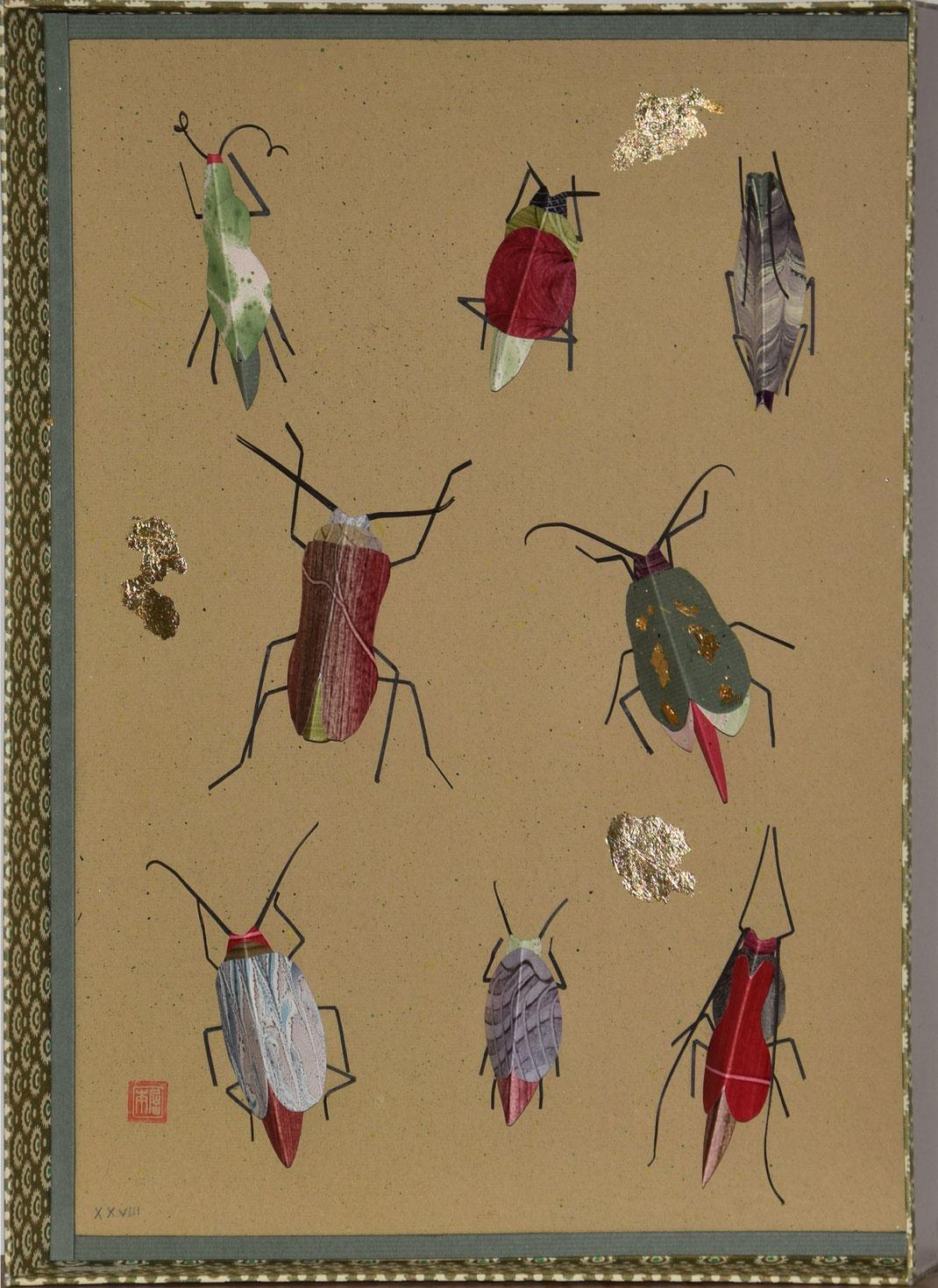 Papierrichter, Papierkunst, Objekt, Kunst, Schachtel, Buchbinder, Kleisterpapier, Buntpapier, Dobis, Andreas Richter