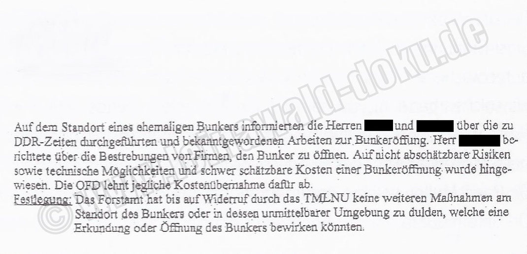 Jahr 1997 Festlegung Thüringer Ministerium für Landwirtschaft, Naturschutz und Umwelt (TMLNU) / Quelle: ISBN 978-3-937940-85-4 Seite 124
