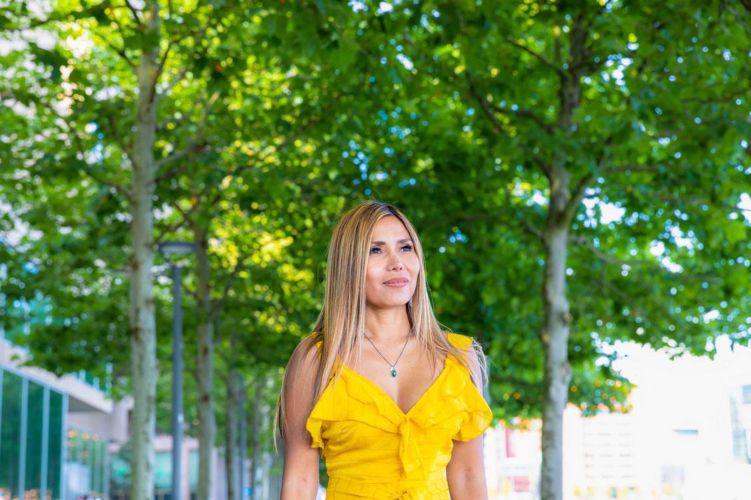 Model photoshoot in Rotterdam