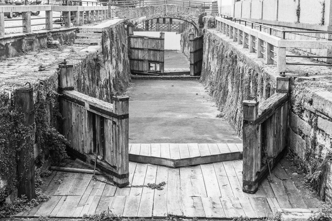 Conca dell'Incoronata - old lock in Milan - Italia