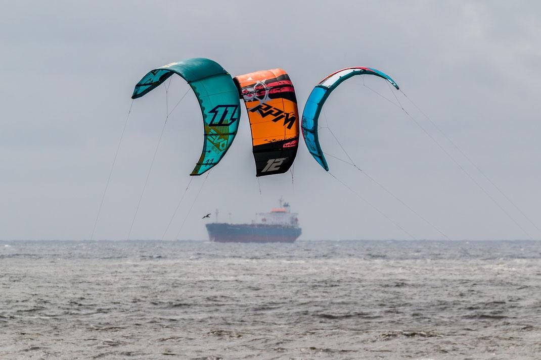 Kitesurfing Wijk aan Zee - 2016