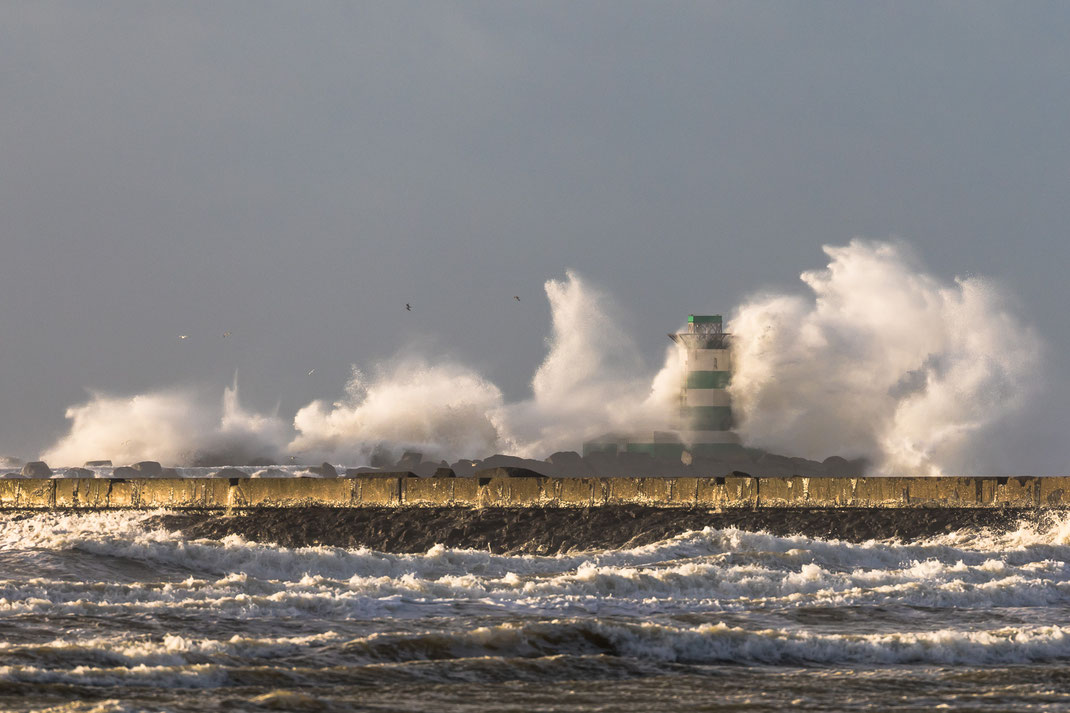 Storm at IJmuiden