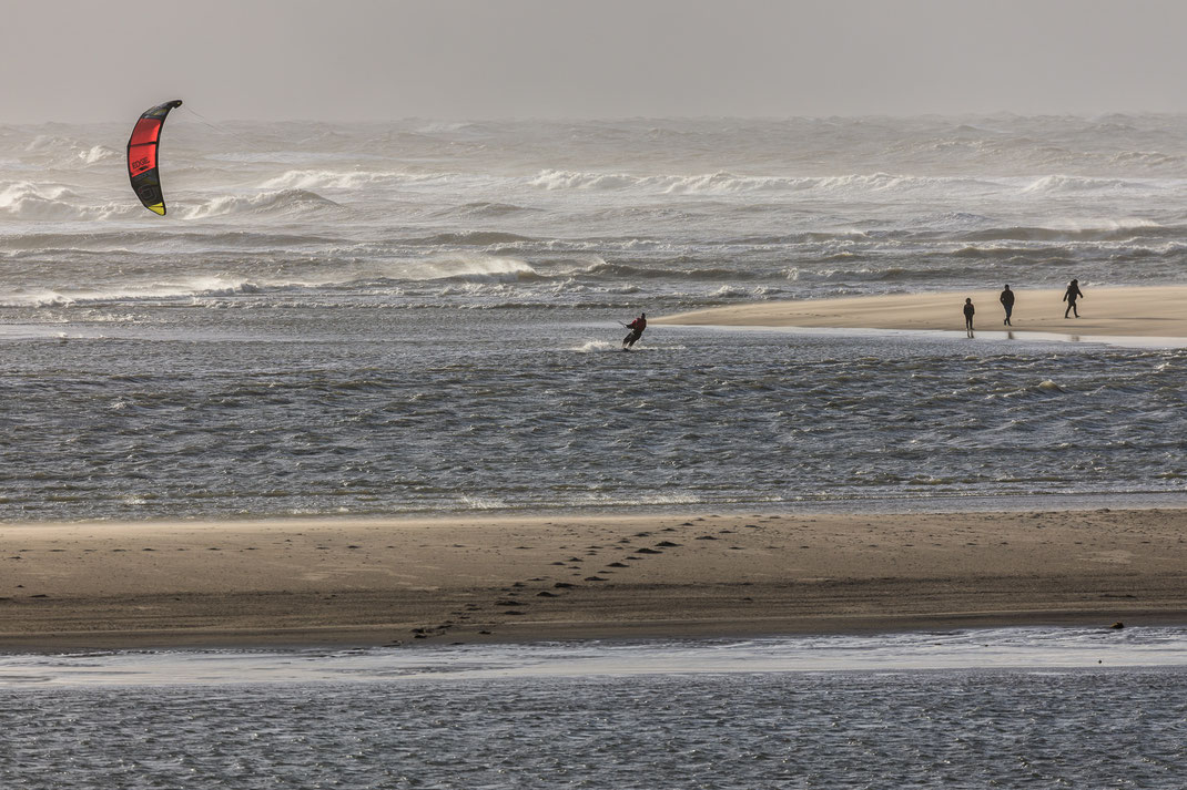 Kitesurfing Maasvlakte - walking route...