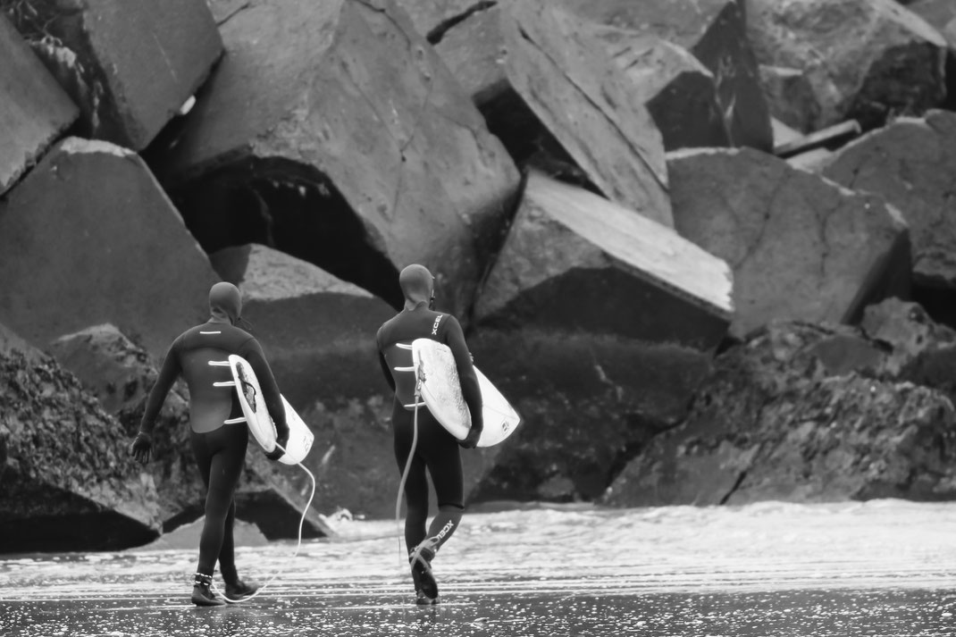 Surfers - Wijk aan Zee