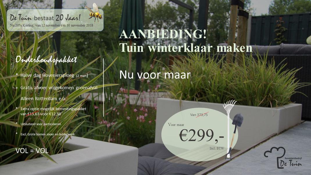 Mijn Tuin App : Ik wil mijn tuin ook winterklaar hoveniersbedrijf detuin