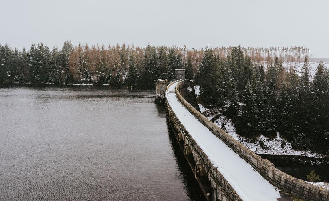 Wettertechnisch gab Schottland alles auf dieser Fahrt - Regen, Schnee, Sonne in einem unausgeglichenen Wechsel.
