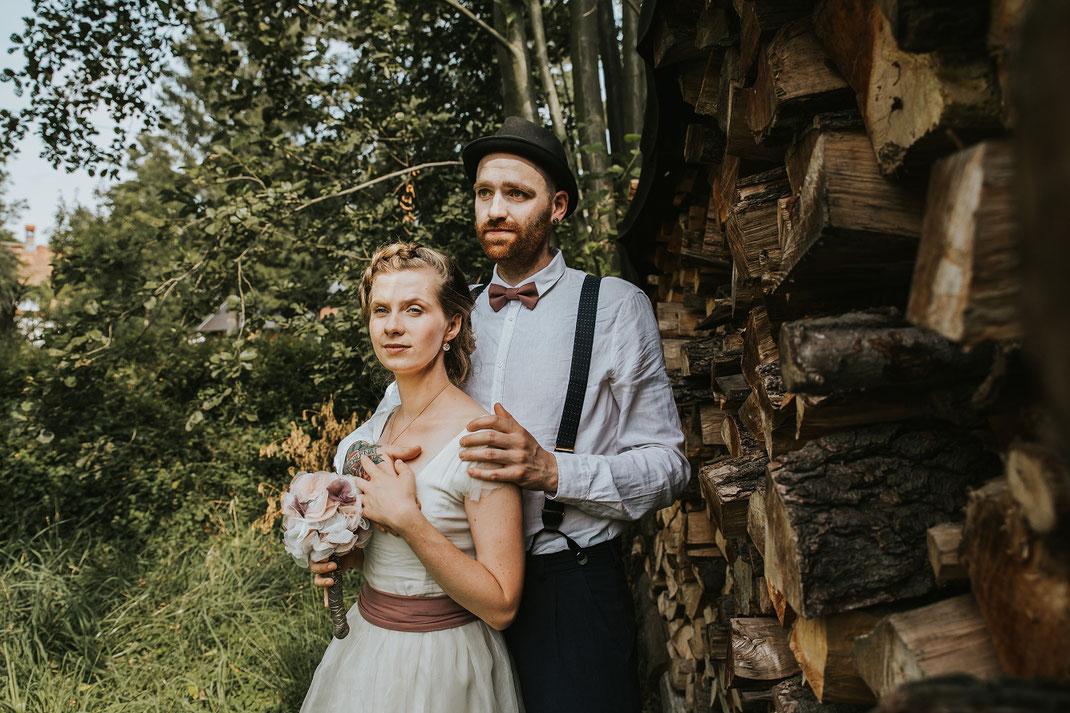 Paarshooting Freie Trauung Spreewald authentische Hochzeitsfotografin Berlin Couple Shooting outdoor draußen in Natur Spreewald