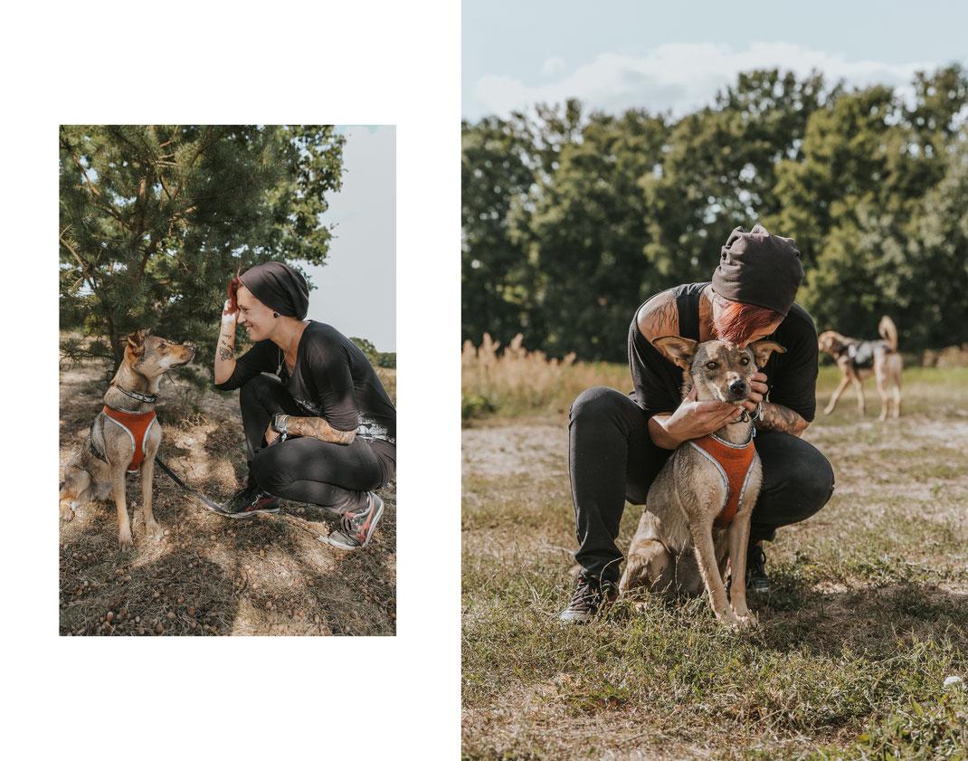 authentisches Portraitshooting mit Hund Streunertreffen im Erpetal des Tierschutzverein Streunerhilfe Bulgarien e.V. Hundefotografie Berlin Tierfotografie Fotografin Erfahrungsbericht Auslandstierschutz Hunde aus dem Ausland Bulgarien