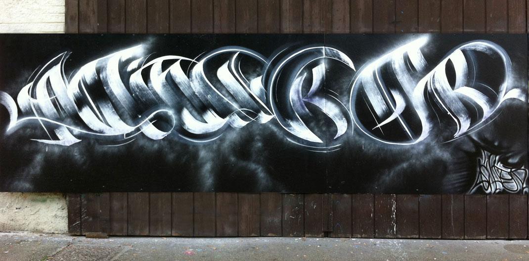 ACTION - Antoine Barsé - Fresque LMS La Motte-Servolex - Collectif de La Maise - lamaise - Art Chambéry Graffiti
