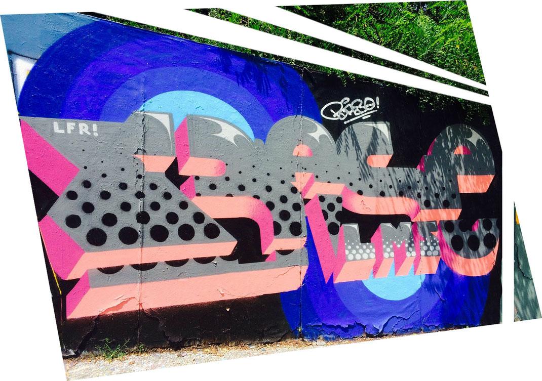 BASE cédric barse artiste graffeur graffiti streetart chambéry savoie collectif de la maise lamaise la maise lettrage writing