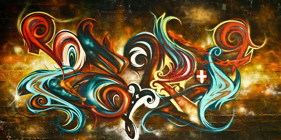 ZERT - Collectif de la Maise - artiste graffeur peintre savoie haute savoie