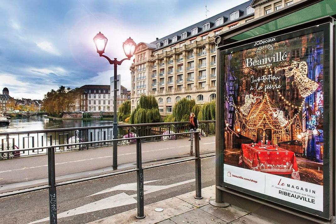 Mes photos servent aussi pour la communication, de belles photos pour de belles entreprises Alsaciennes. Ici pour la campagne Beauvillé 2019 par l'Agence Infra.