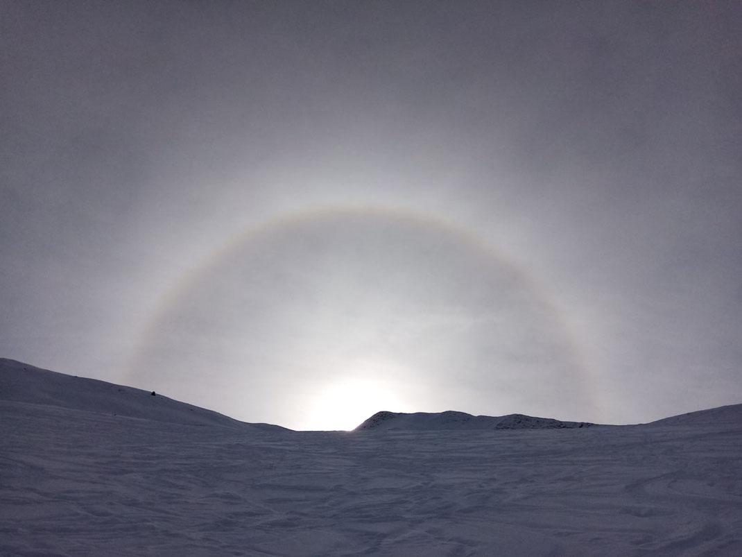 Une gloire observée hier depuis la hourquette de Mount Agut  (Betpouey)