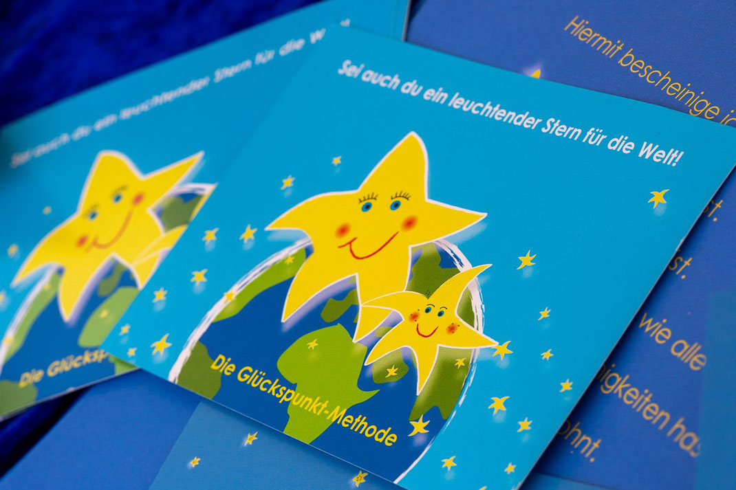 Postkarten Glückssterne
