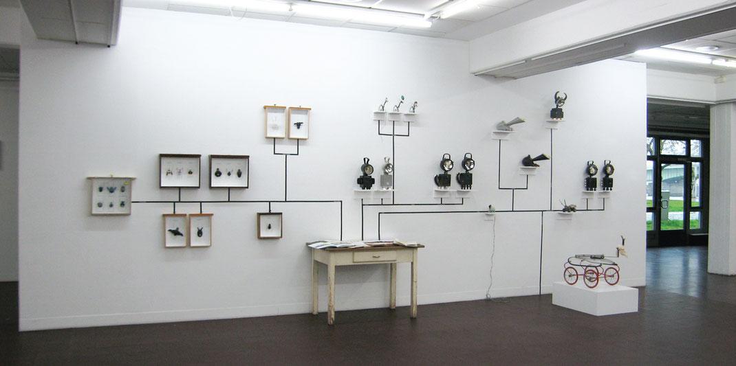 BBK Köln, Installation