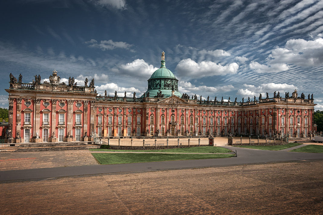 Potsdam, Neues Palais, Zerina Kaps