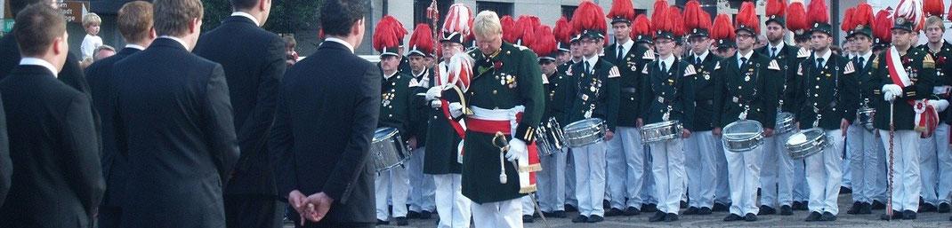 Das traditionelle Schützenfest in Ahrweiler immer im Juni
