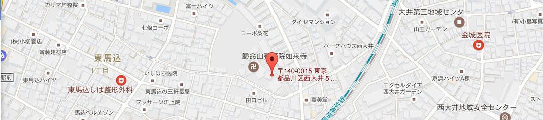 養玉院如来寺の地図