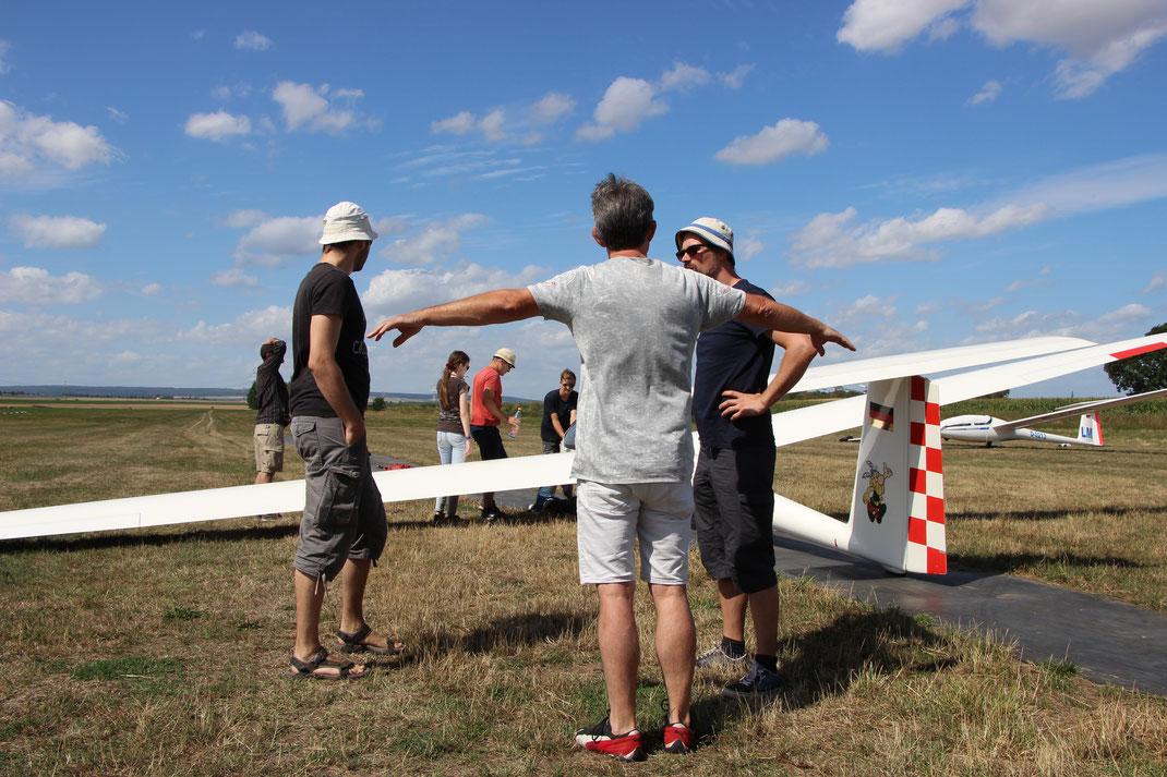 Unser Kassierer kann auch ohne Flugzeug fliegen!