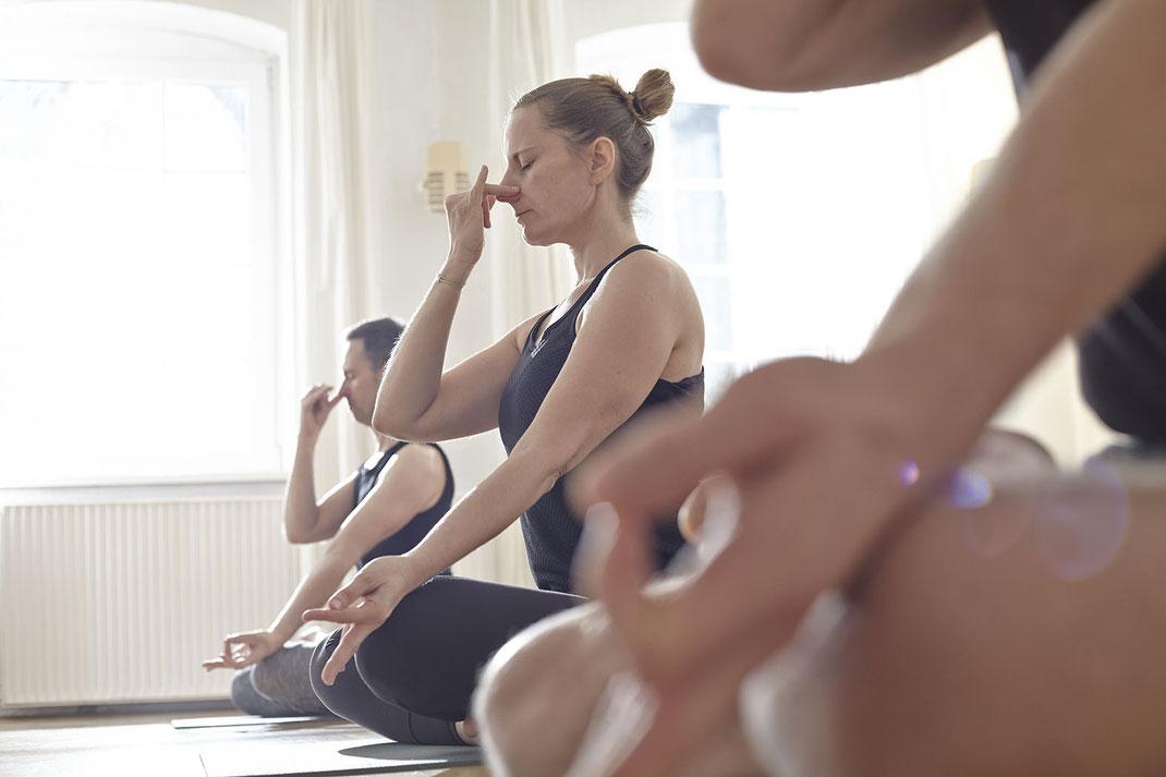 Pranayama ist Bestandteil einer ganzheitlichen, fortgeschrittenen Ashtanga Yoga Praxis.