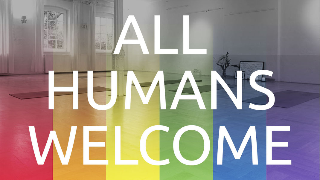 All humans welcome!