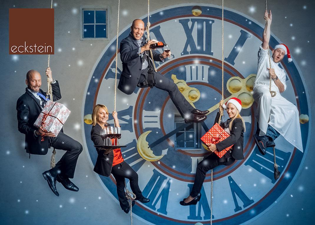 Eckstein Weihnachtskarte © Michael Schnabl