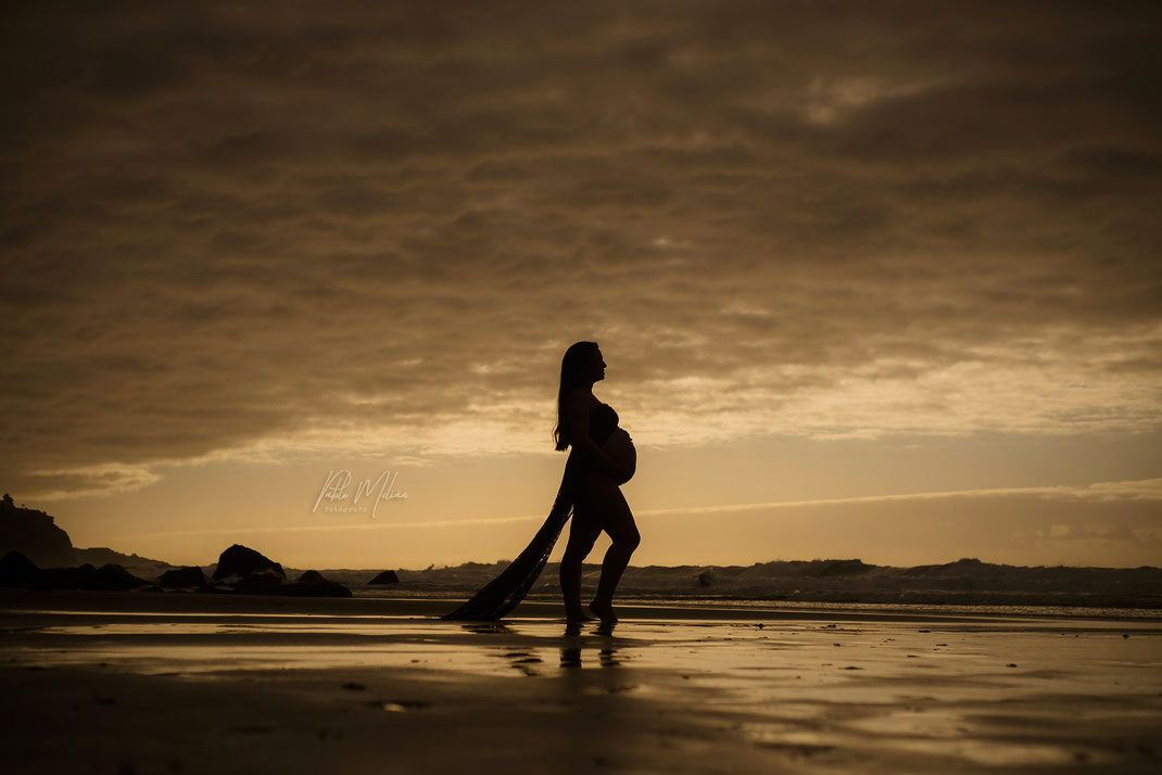 estudio fotográfico para premamás en Tenerife - fotógrafo maternidad