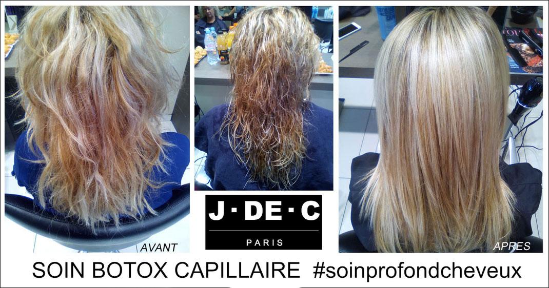 J de c Coiffure Marseille, Botox Cheveux, Botox Capillaire, Botulinique capillaire, Spécialiste Lissage Ybera France