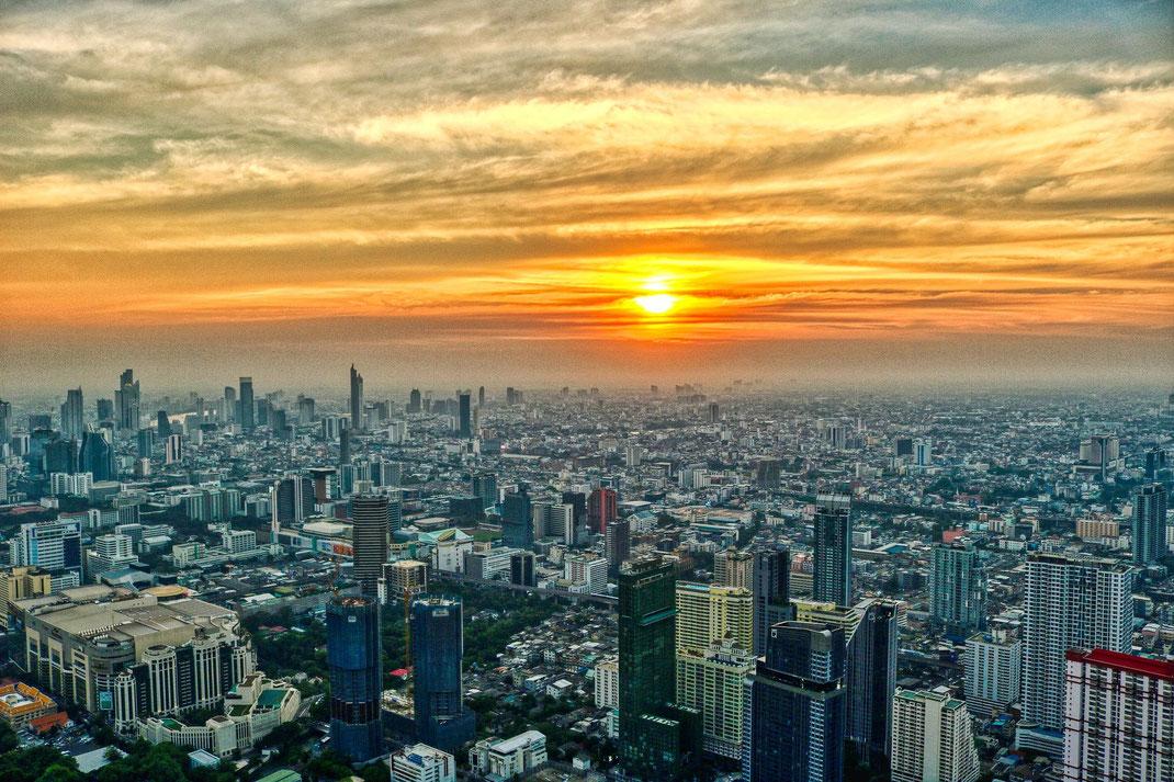 Bangkok Downtown Panorama