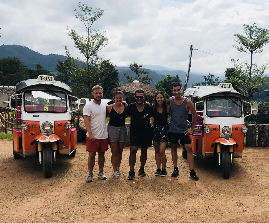 Drive your own Tuk Tuk and see Thailand from another Side