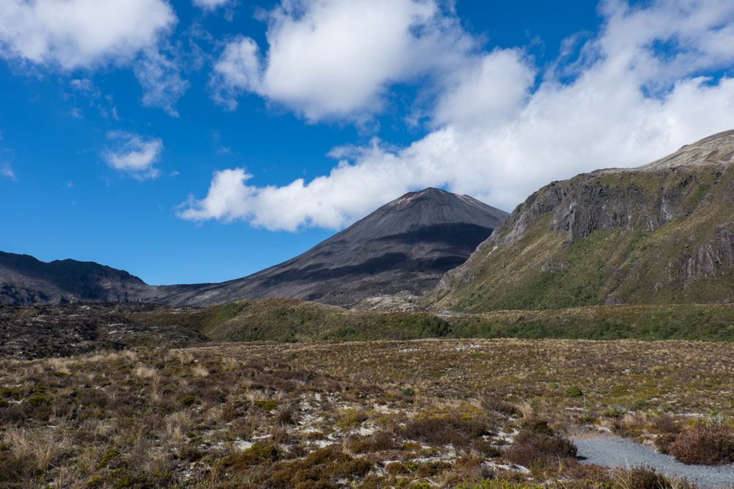 Mount Tongariro, mit 1978m