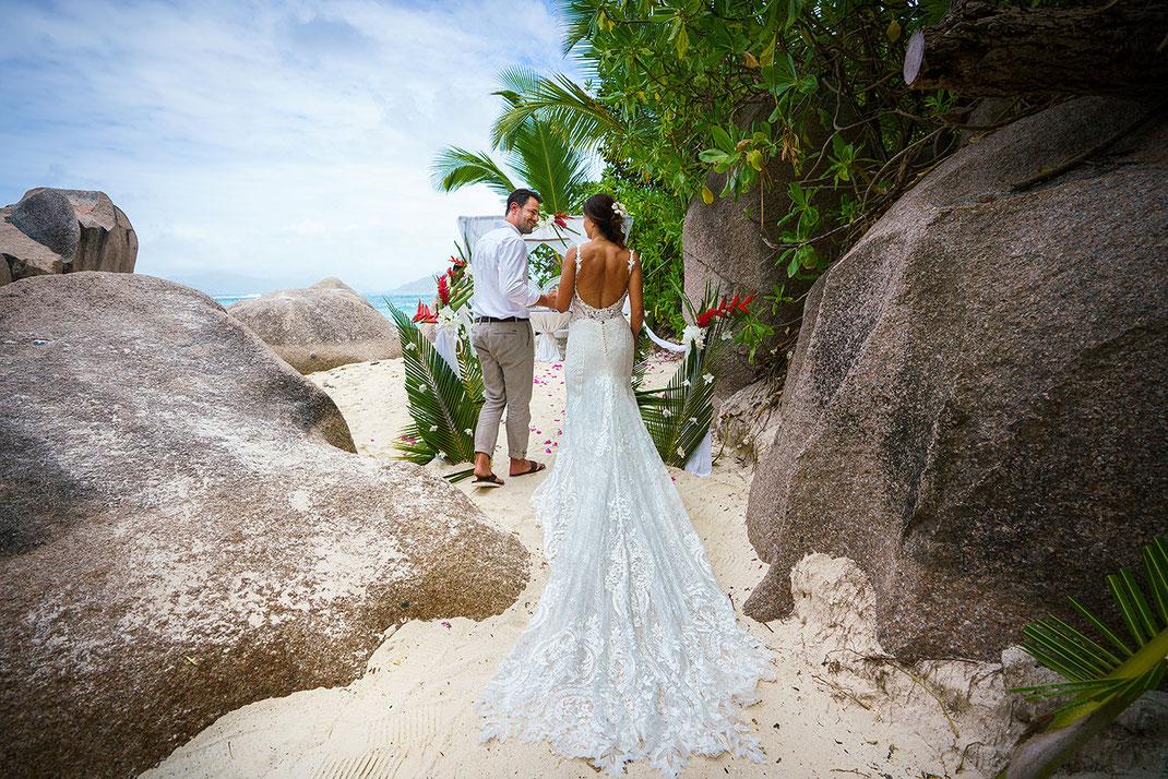 Hochzeitsfotos La Digue