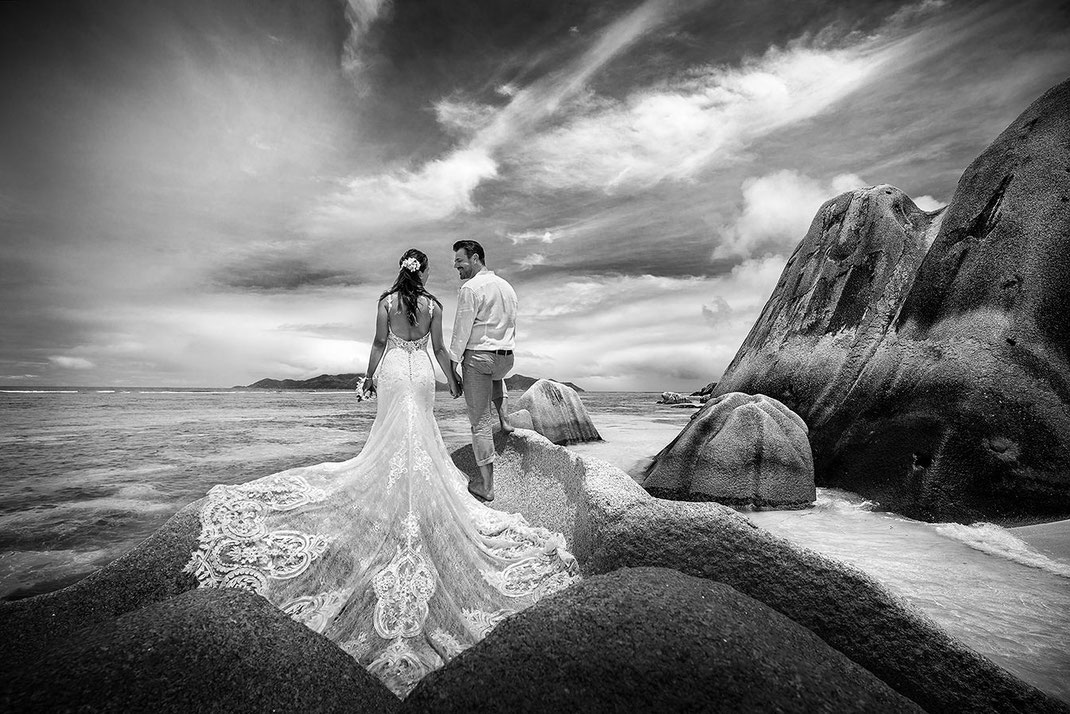 Strandtrauung Seychellen