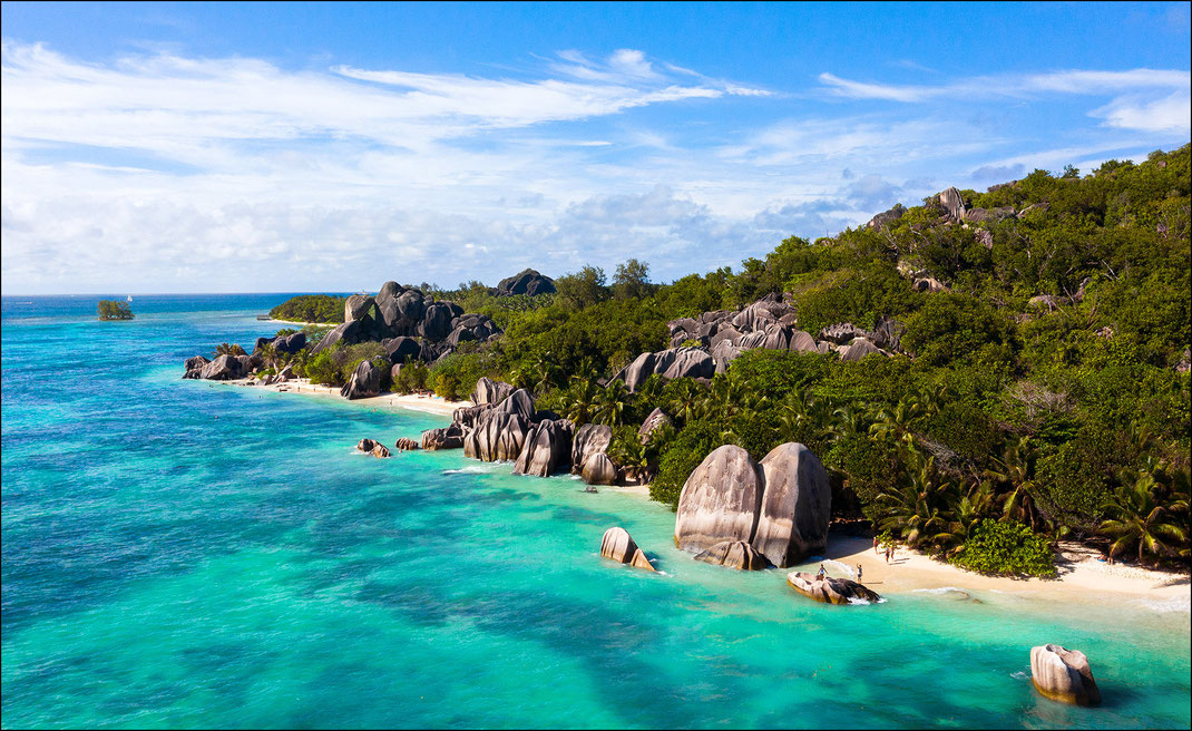 Drohnenfotograf Seychellen