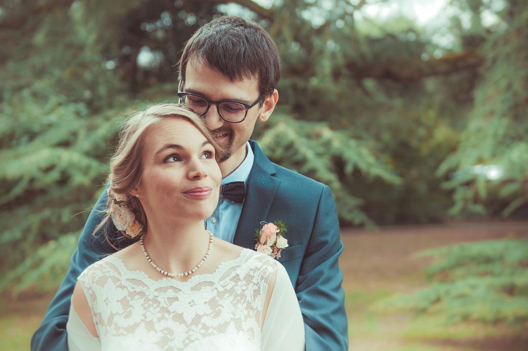 Standesamt und Brautpaar-Shooting im Park Weinheim