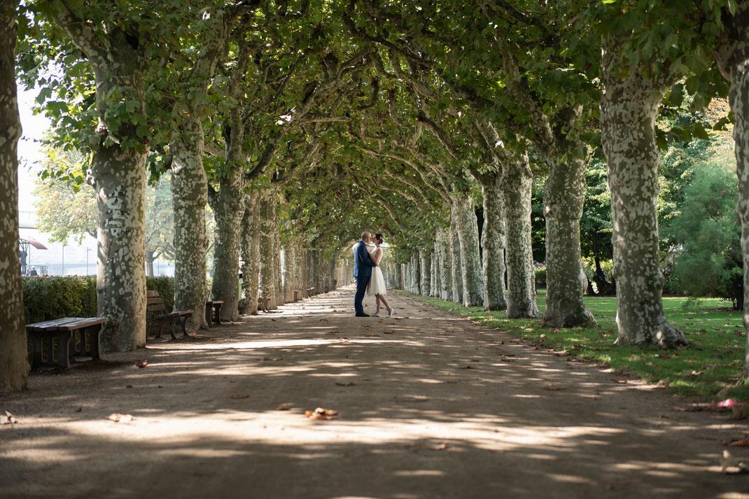 Standesamtliche Begleitung inklusive Brautpaar-Shooting in Frankfurt am Main und Umgebung
