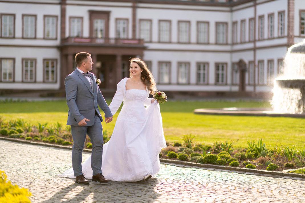 Diese Aufnahmen stammen vom 15. April und wurden im Schloss Philippsruhe in Hanau aufgenommen