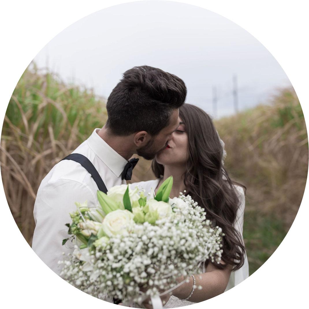 Vor der Hochzeit Film oder Before the wedding Video im Palmengarten, im Park, in der Stadt oder beim Hobby