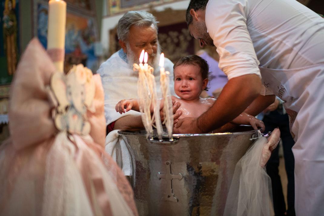 Kamerateam für die griechisch orthodoxe Taufe Ihres Nächsten - Fotograf und Videograf in Ludwigshafen
