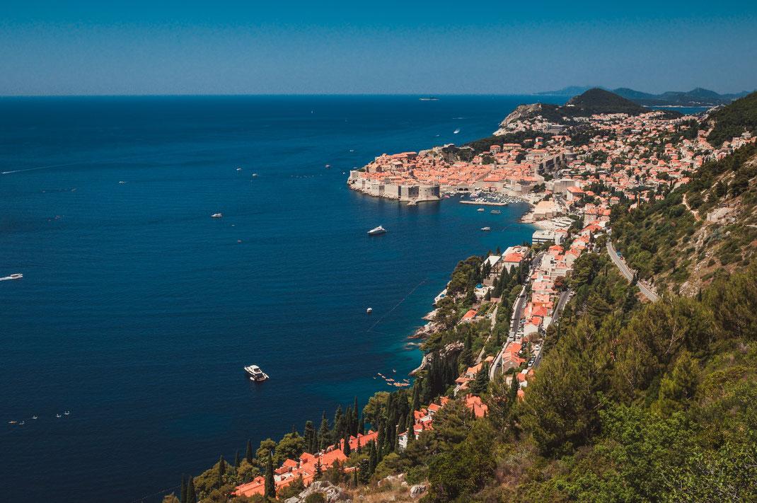 Dubrovnik Historische Stadt in Kroatien am Adria kostenlos herunterladen